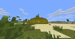 The Beatles Yellow Submarine Minecraft Map & Project