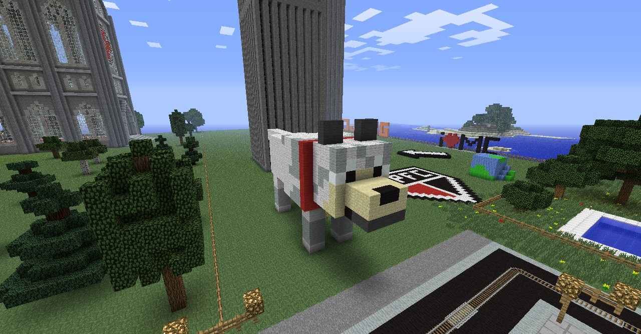 How to make a really cool houses in minecraft pet