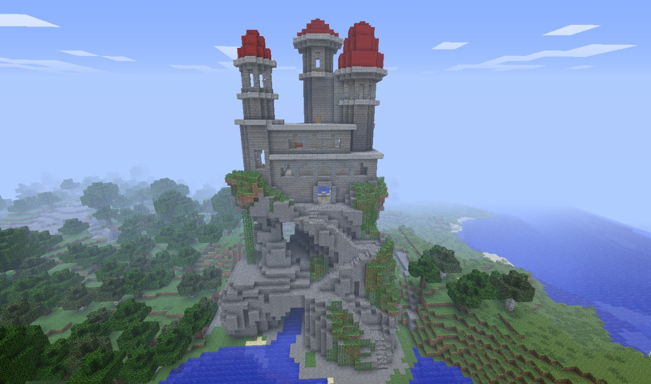 Castle On A Hill Pineda2020 Minecraft Project