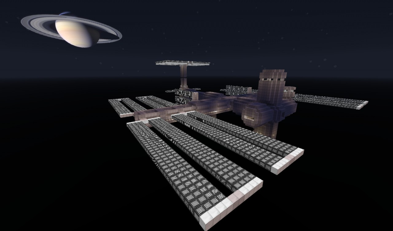 International space station iss minecraft project international space station iss photolibrary gallery public world viewer gumiabroncs Choice Image