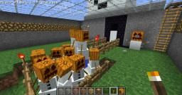 Snow Golem Automatic Factory using Redstone and Pistons + World download! Minecraft Map & Project