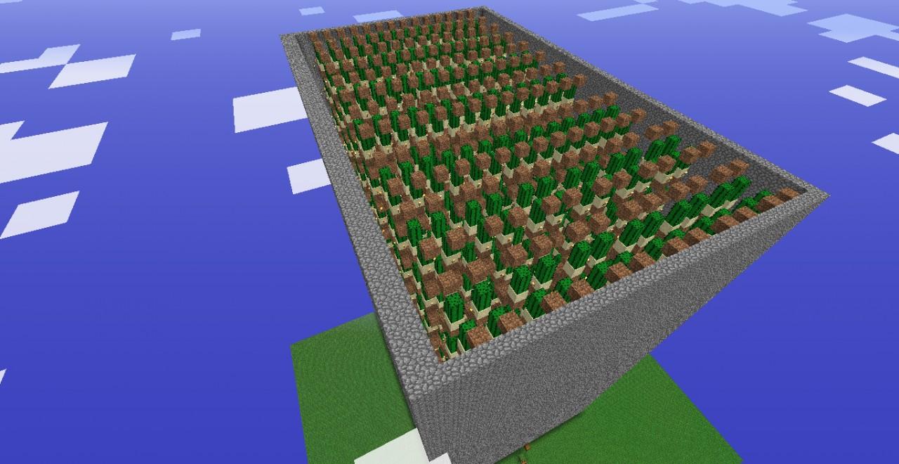 Giant Cactus Farm 3840 Cacti Hr Minecraft Project
