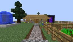 Flat Land Home 2.0 Minecraft Map & Project