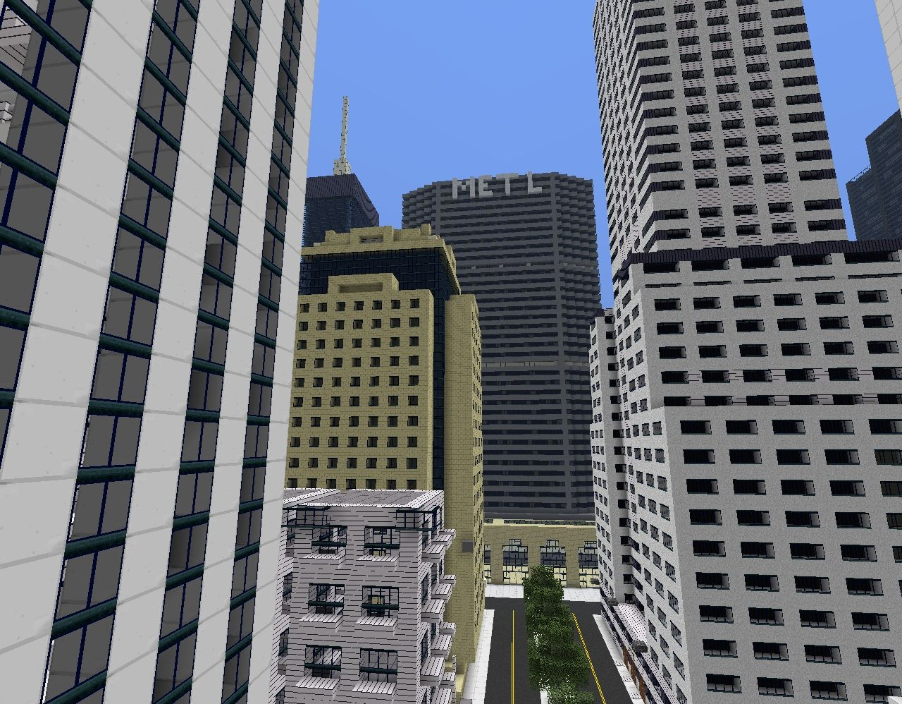 Community Collection Project New York City Please Comment - New york map in minecraft