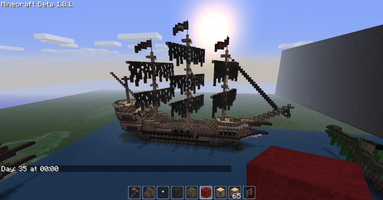 Pirate Ship  Fr  Minecraft Project