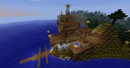 Seaside Starter Home Minecraft Map & Project