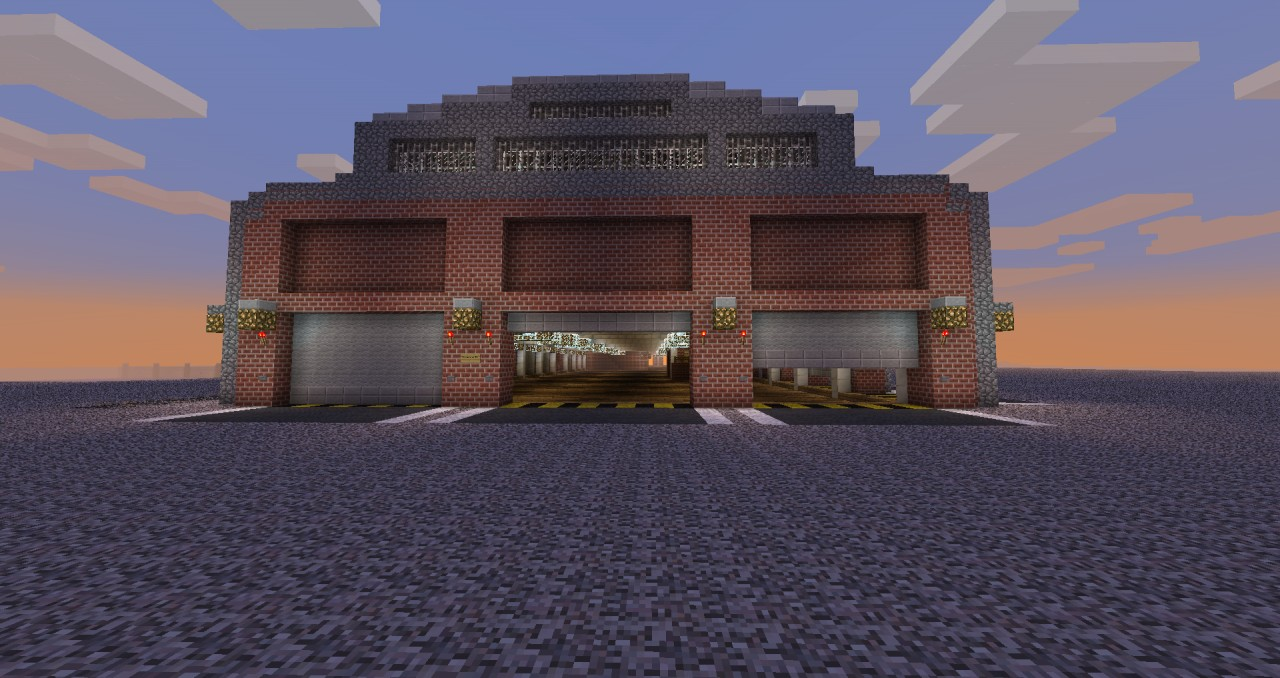 My Little Warehouse Minecraft Project