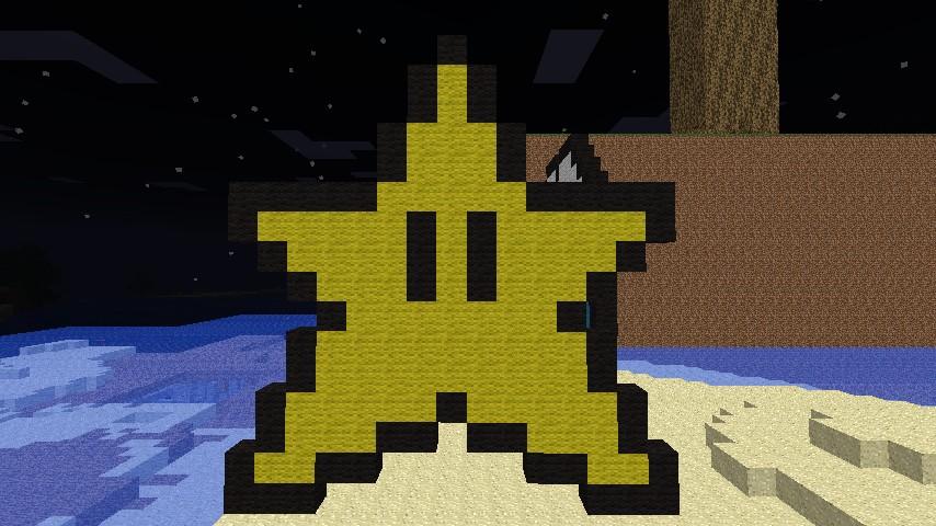 Pixel Mario Star by PixelDinosaur on DeviantArt  |Pixel Star