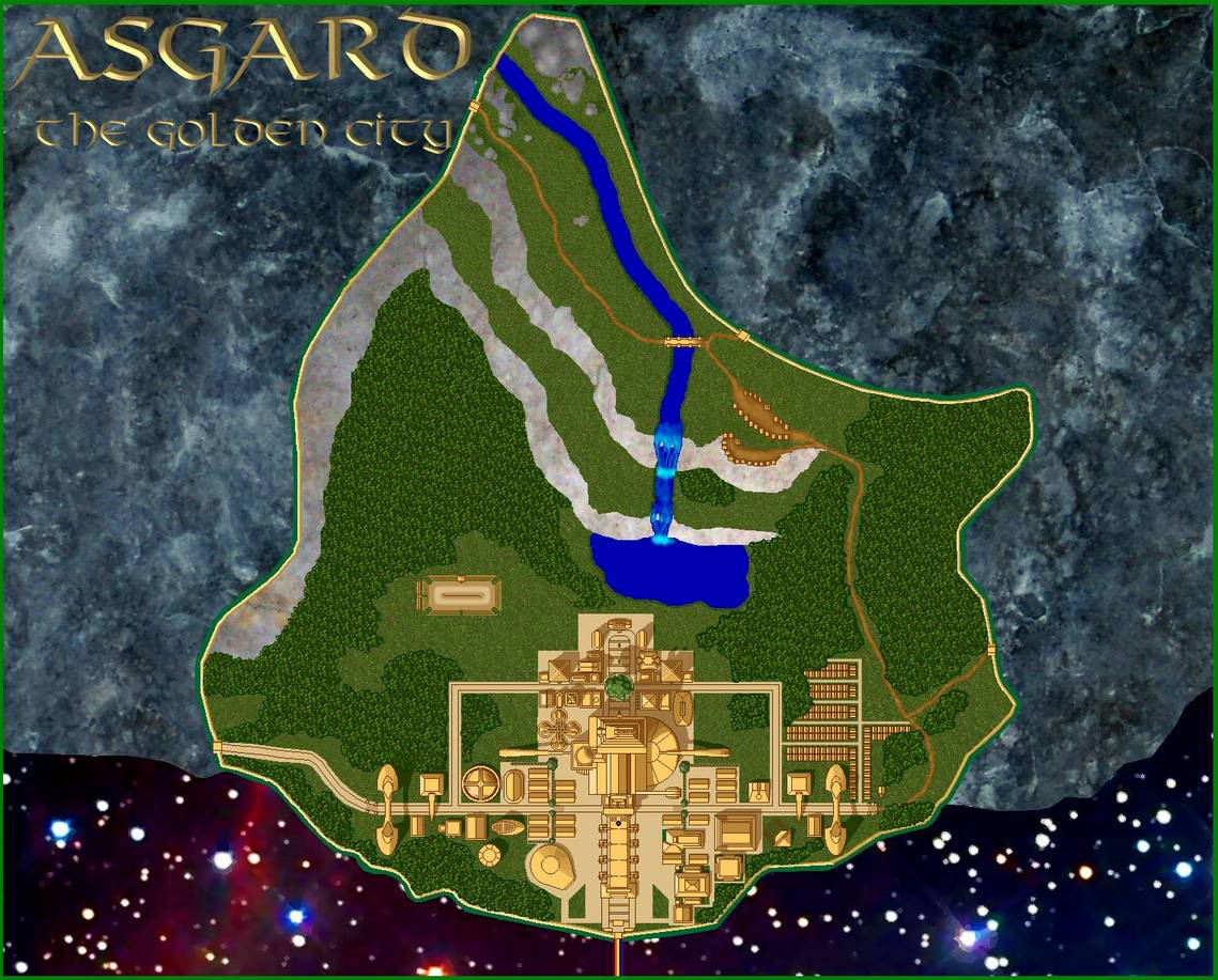 The Wonderful City of Asgard