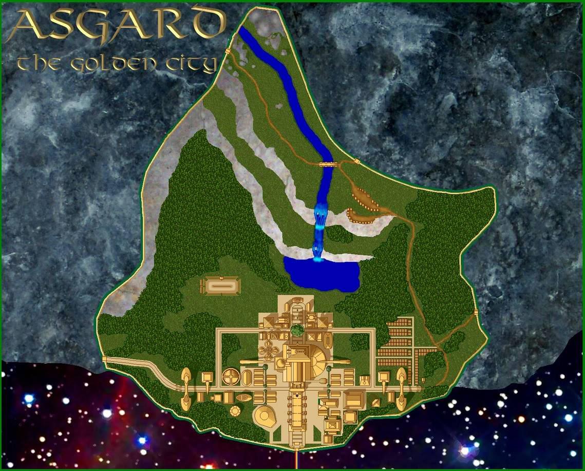 The Wonderful City of Asgard
