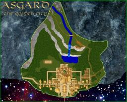 The City of Asgard(Mini) Minecraft Map & Project