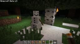 HOW TO MAKE SNOWMEN! FIRST CREEPER VS SNOWMAN FOOTAGE! Minecraft Blog