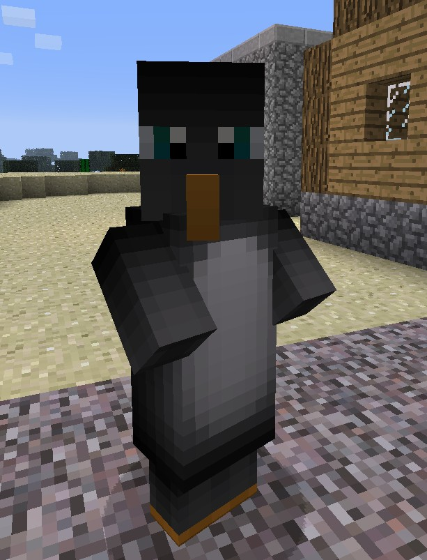 Penguin Pals Villager Skin Pack Minecraft Texture Pack