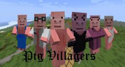 Pig Villagers Texture Pack