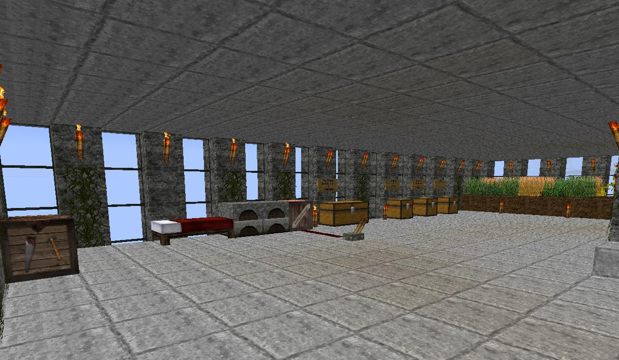 Twin Towers Memorial Replica Minecraft Project