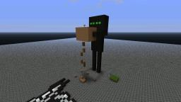 Giant ender man! Minecraft Map & Project
