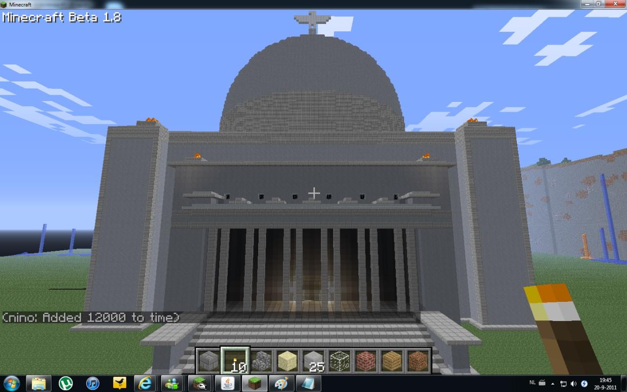 Volkshalle Minecraft Project