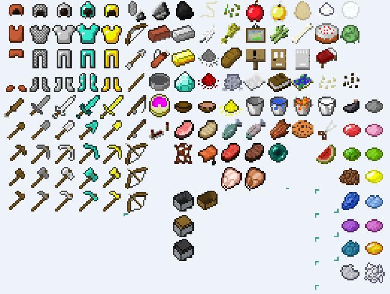 Cica S Items 1 8 Minecraft Texture Pack