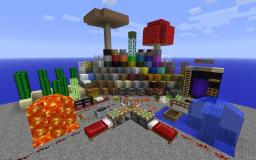 Texture Pack Gallery for 1.9 in Creative MODE! Minecraft Map & Project