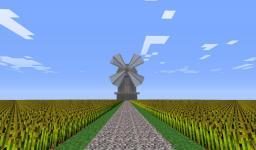 Dutch type windmill Minecraft