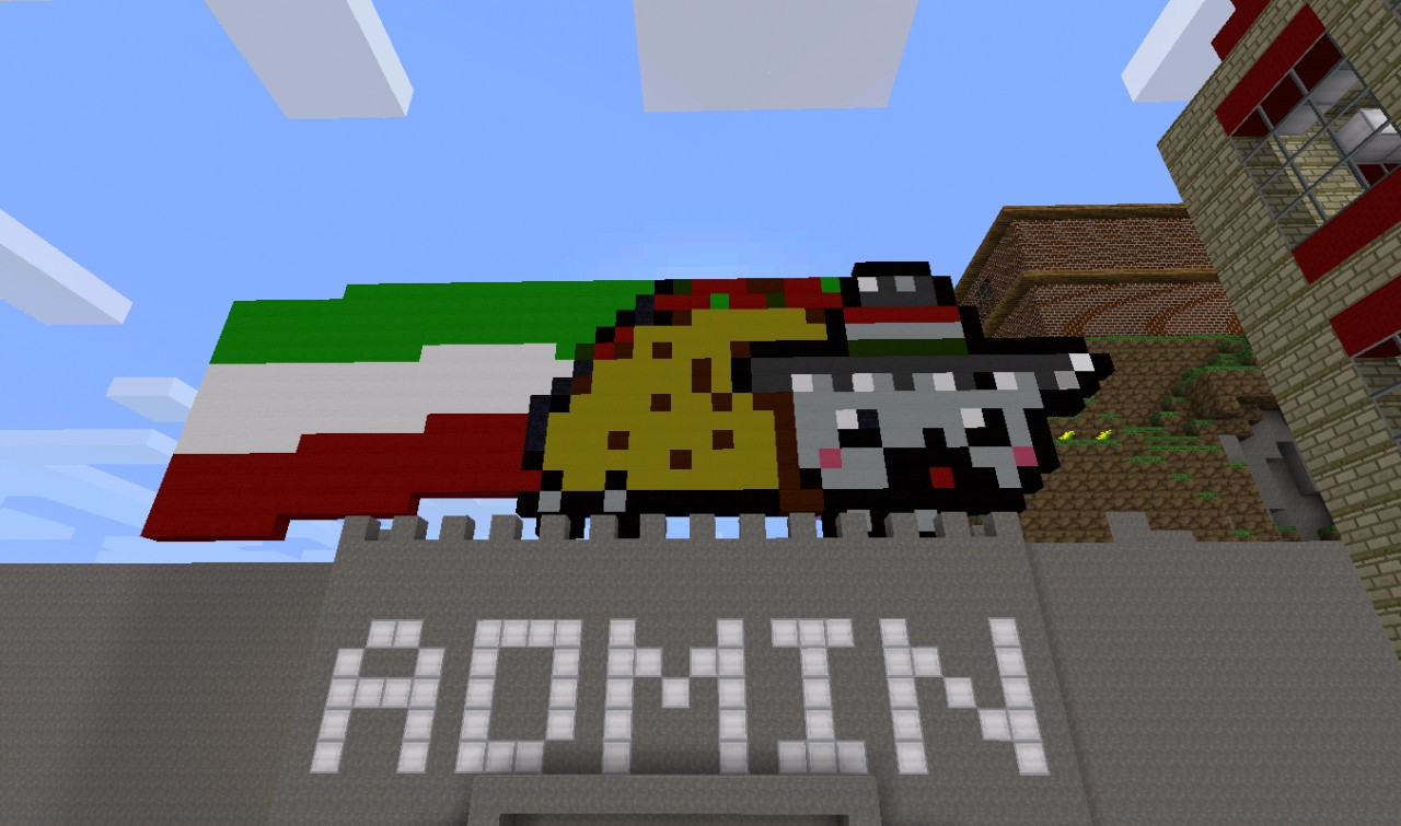 Mexican Nyan Cat Gif Mexican Nyan Cat Minecraft