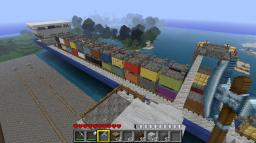 big cargo ship Minecraft