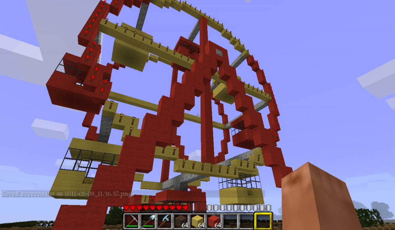 Ferris Wheel Minecraft Project  Ferris Wheel Mi...