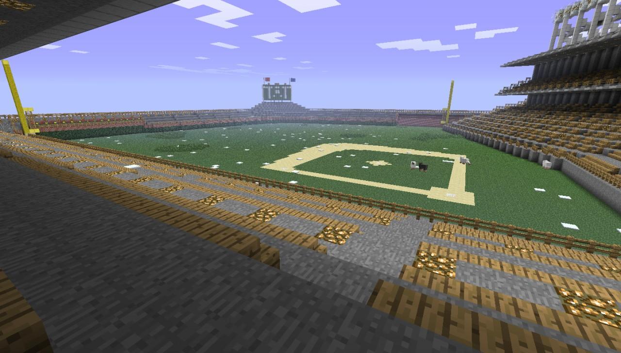 Wrigley Field Minecraft Project