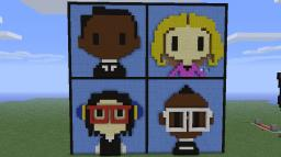 black eyed peas album cover Minecraft Project