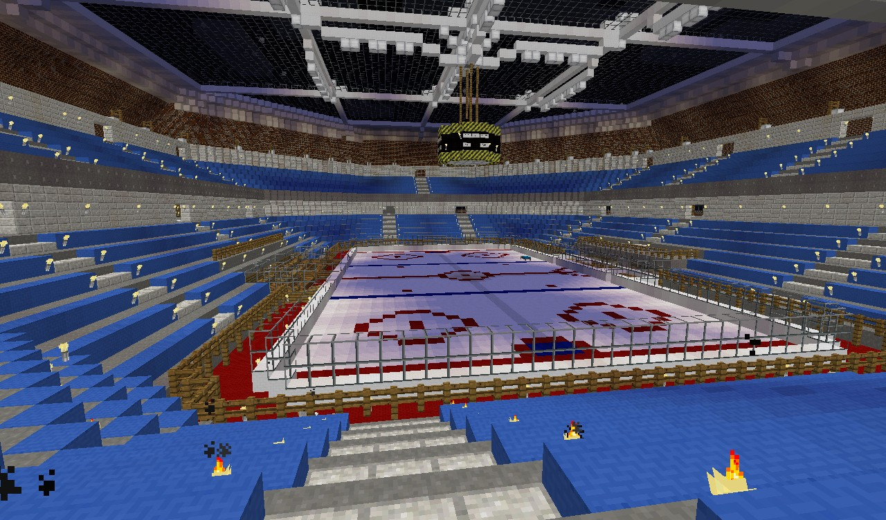 2 Months of Work But I Finally Have A Minecraft Hockey ...