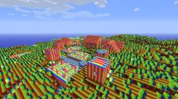 the one and only, RAINBOWCRAFT! Minecraft Texture Pack