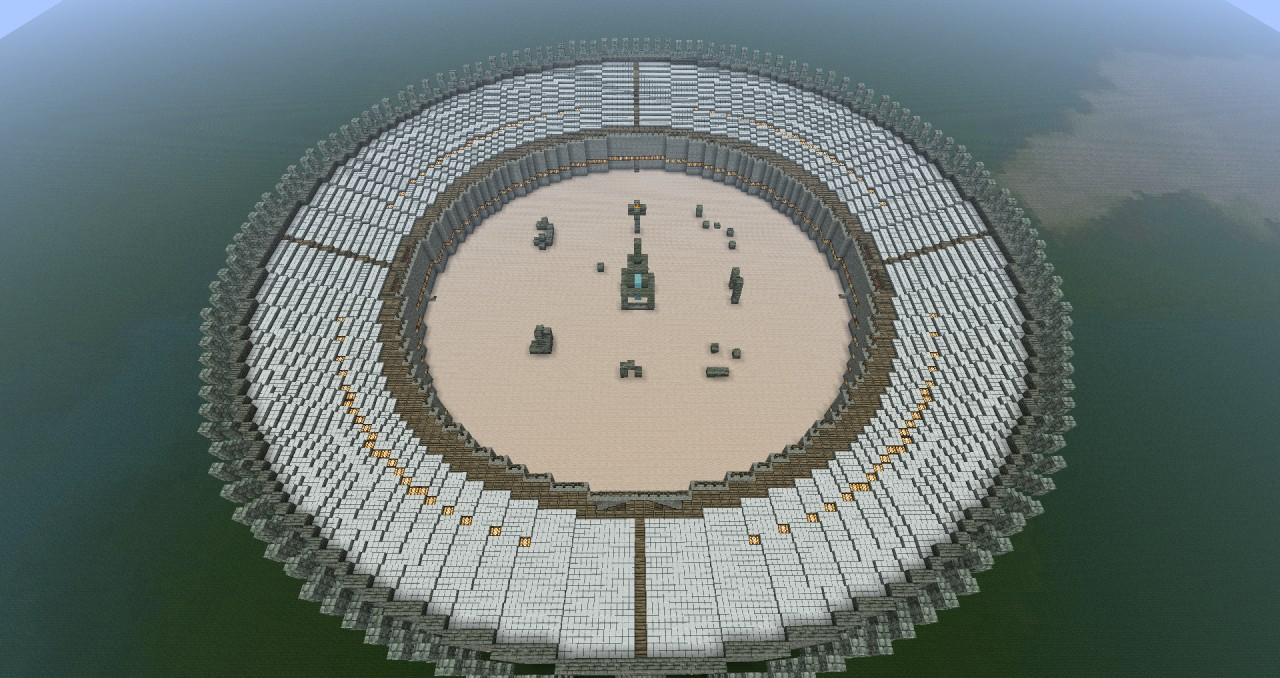 how to make circle minecraft