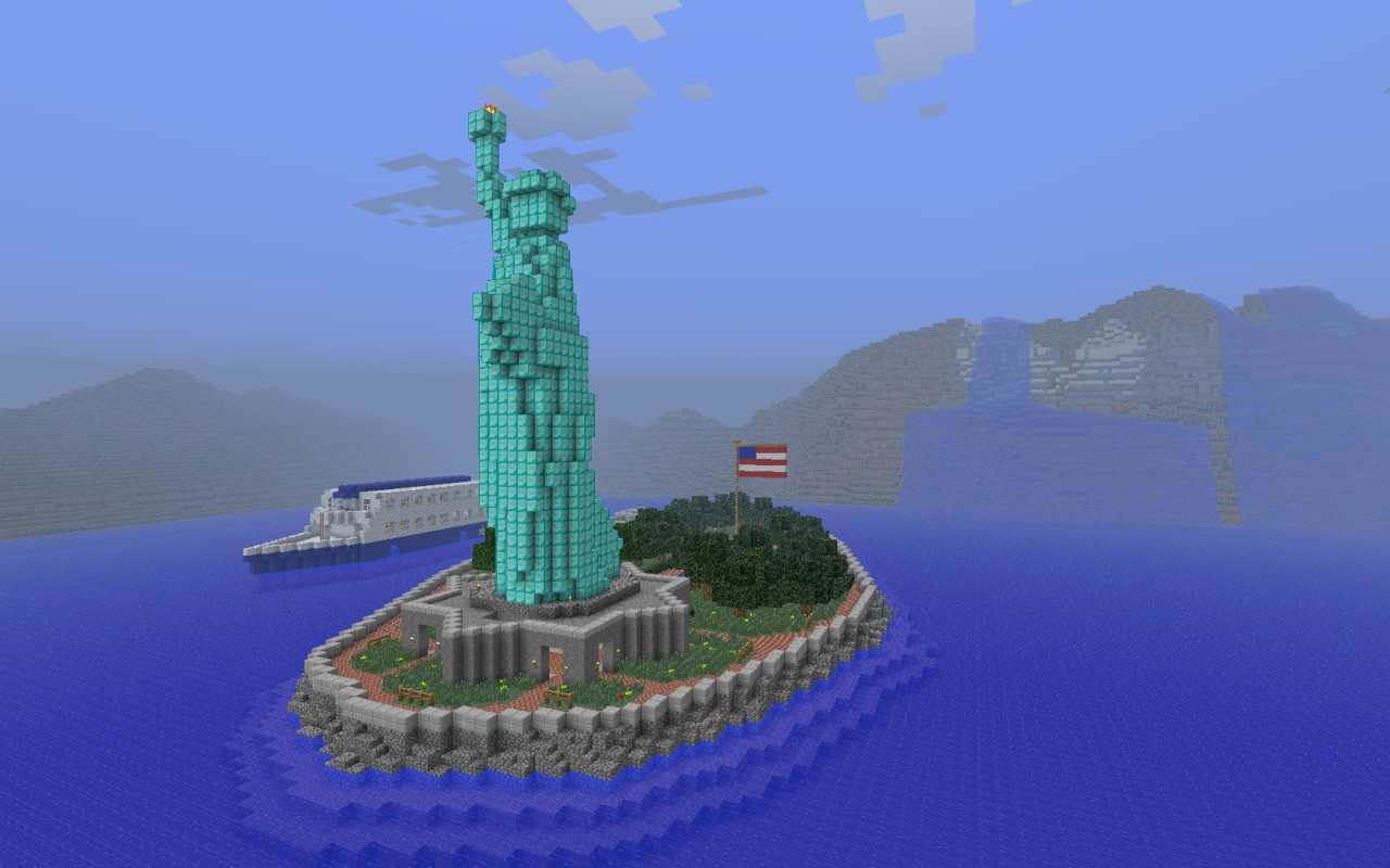 Manhattan New York City Minecraft Project - Nyc map minecraft