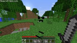 Invisible Creepers and Spiders!(plus bloody enderman) Minecraft Texture Pack