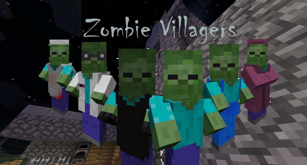 Zombie Villagers Minecraft Texture Pack