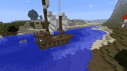 My House/Ship Minecraft Map & Project