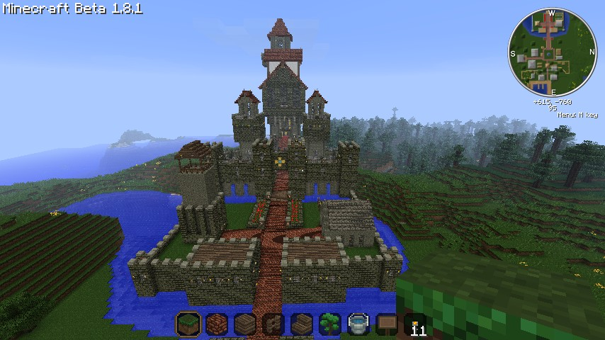 how to build a medieval minecraft village