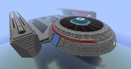 Star Trek USS Oberth - Fully Explorable Minecraft Map & Project
