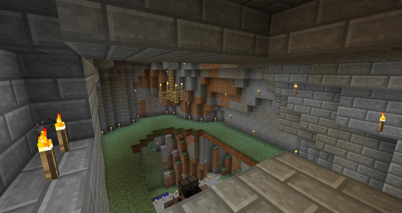 Hidden Cave Entrance Minecraft Project