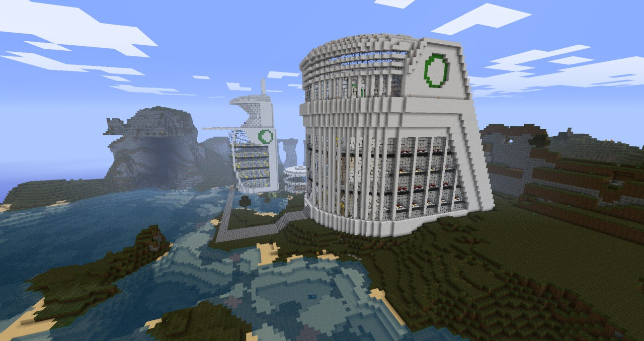 New new york hospital new earth minecraft project finished product publicscrutiny Image collections