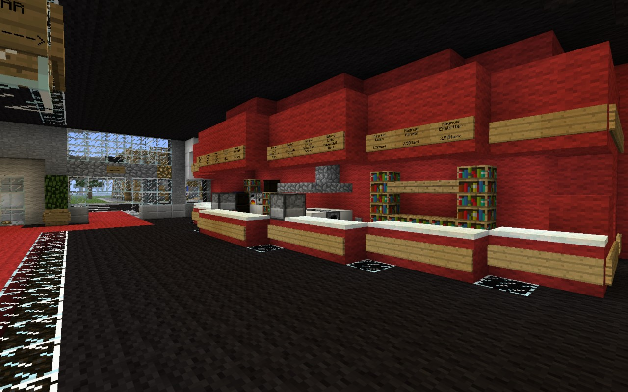 Cinema Center Minecraft Project