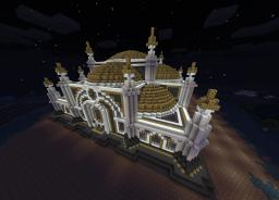 Arabian Spawn Temple Minecraft Map & Project