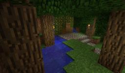 Hidden house (Hidden doors) :D lol Minecraft Map & Project