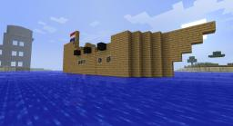 An east to make Ship Minecraft Map & Project