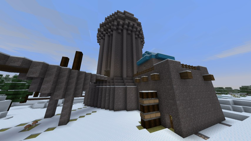 great keep at winterfell: WIP