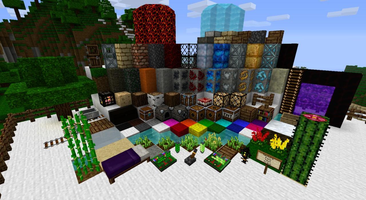 16x1.9 beta Adacia Minecraft Texture Pack