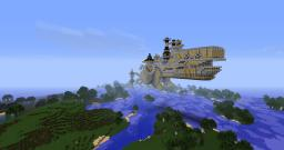 AirShip (SteamPunk) Minecraft Map & Project