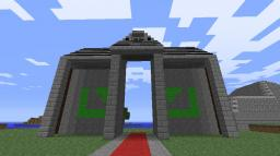 Cool Temple Entrance Minecraft Map & Project