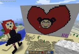 Mundo que minha irmã fez Minecraft Map & Project