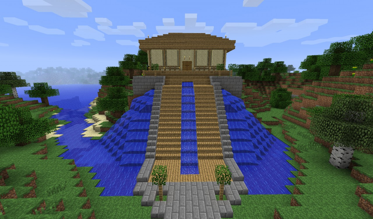 Asian style housing 2 minecraft project for What are the different styles of homes